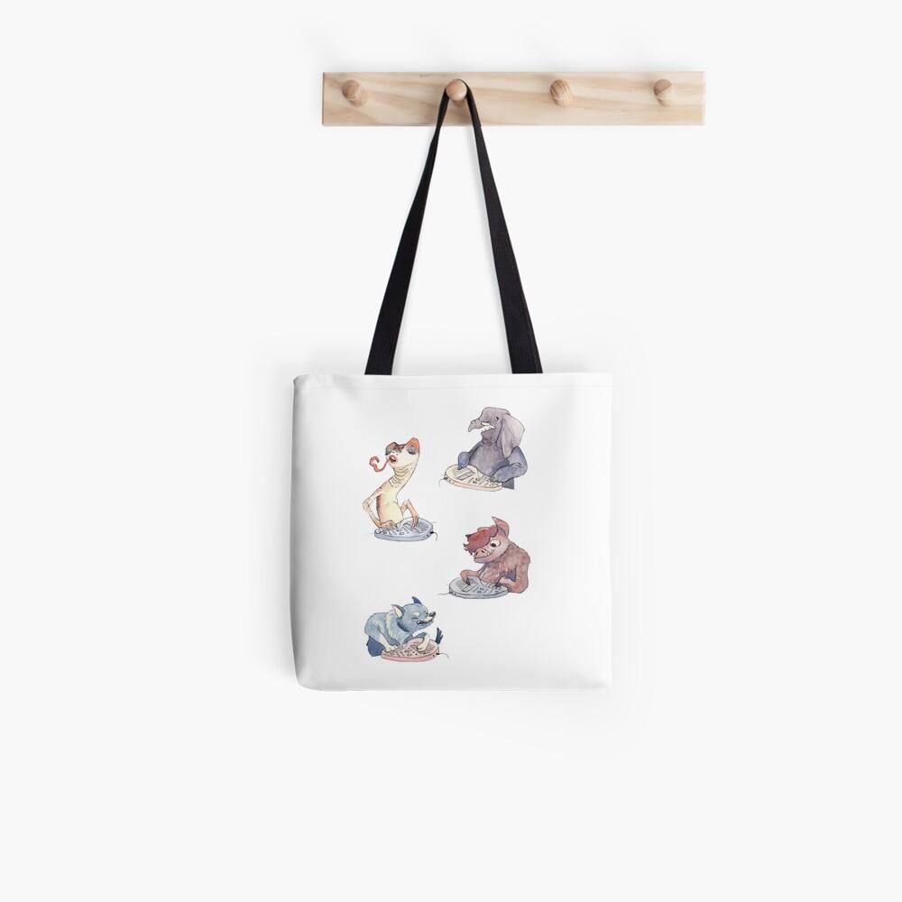 Omnichord Animals Tote Bag
