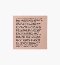 Is This It x Jenny Holzer Art Board