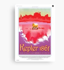 Keper 186f Where the Grass is Always Redder Canvas Print