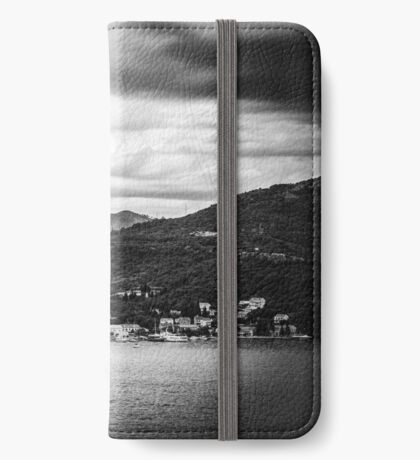 Dubrovnik Landscape - Black Edition (iPhone wallet) iPhone Wallet