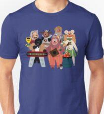 Rockafire- Showbiz Pizza Characters Unisex T-Shirt