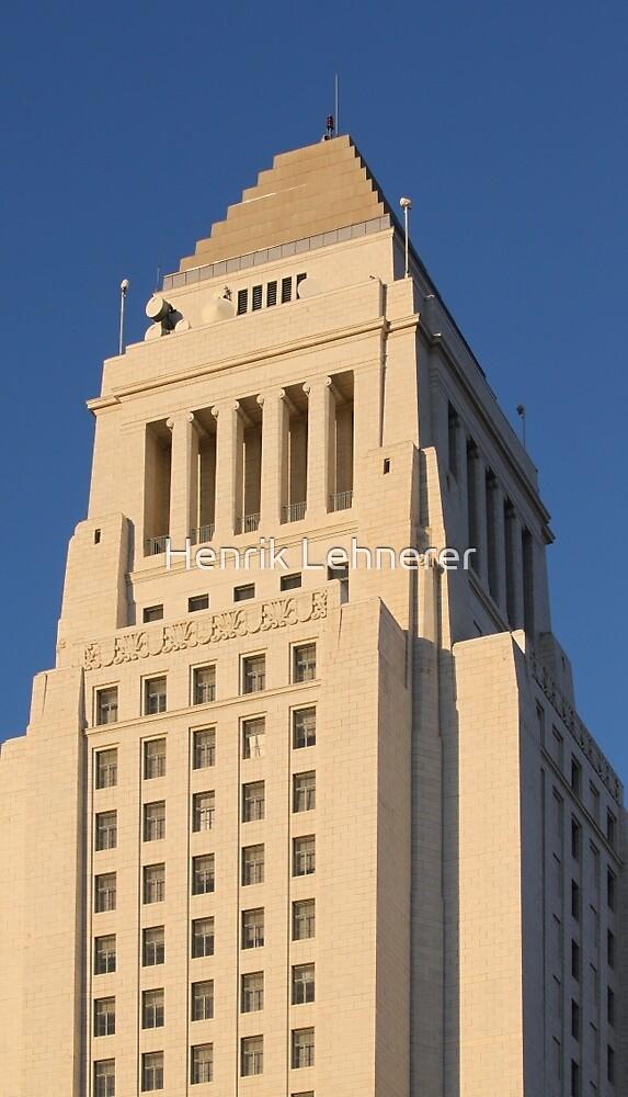 Los Angeles City Hall by Henrik Lehnerer
