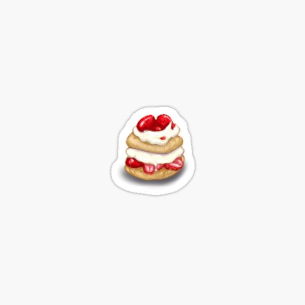 Tiny Strawberry Shortcake Sticker