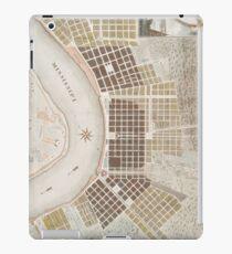 Vintage Map of New Orleans Louisiana (1817) iPad Case/Skin