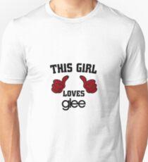 This Girl Loves Glee Unisex T-Shirt