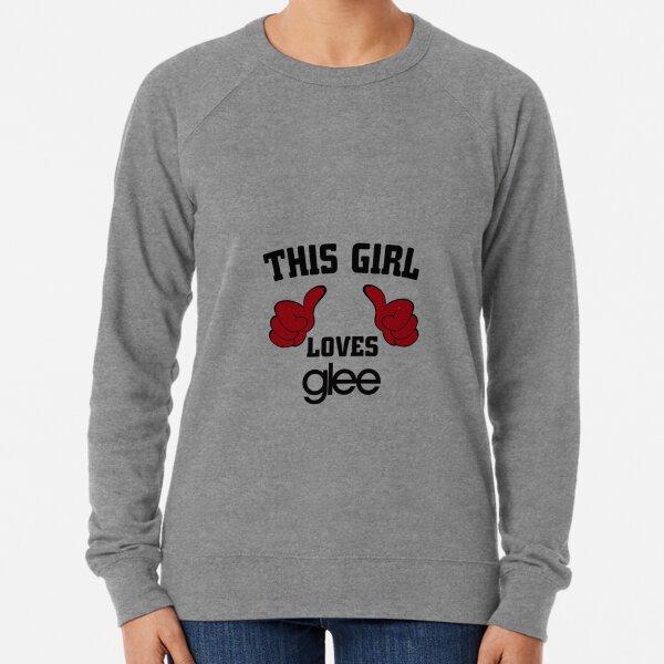 Esta chica ama a Glee Sudadera ligera