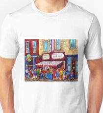 SCHWARTZ'S DELI SMOKED MEAT SANDWICHES MONTREAL T-Shirt