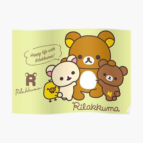 happy life with rilakkuma Poster