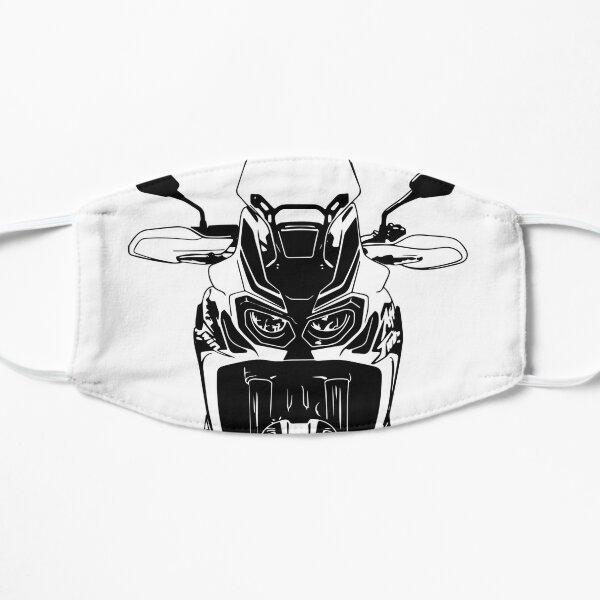 Moto Illustration Art of Africa Twin Racing Motorcycle Masque sans plis