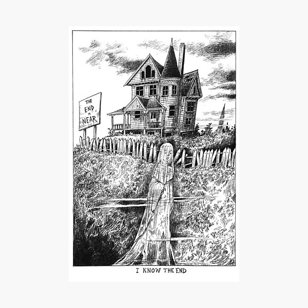 I Know The End (Illustration) Photographic Print