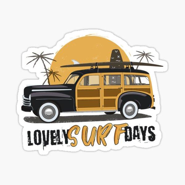 Surf days Sticker