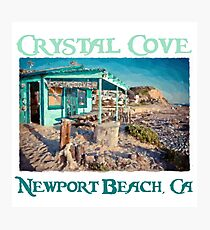 Crystal Cove Shack - Newport Beach Photographic Print