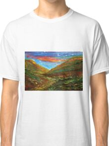 Mourne Abstract 2 Classic T-Shirt