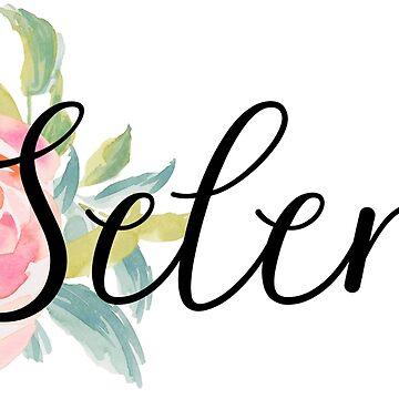 Selena Custom Name by emilycutter