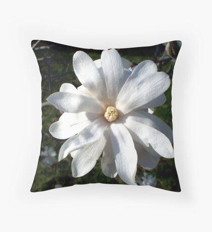 White Star 1 Throw Pillow