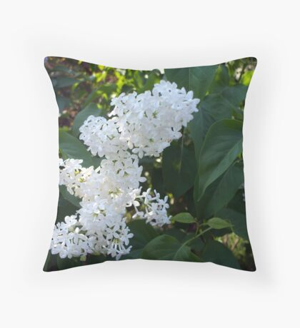 What about White 2 Throw Pillow