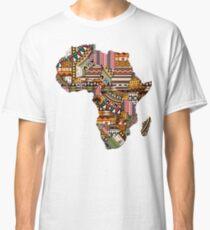 Africa map pattern Africa t-shirt Classic T-Shirt