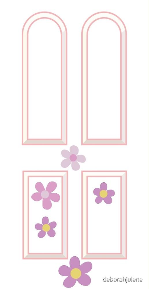 Quot Monster S Inc Boo S Door Design Quot By Deborahjulene Redbubble