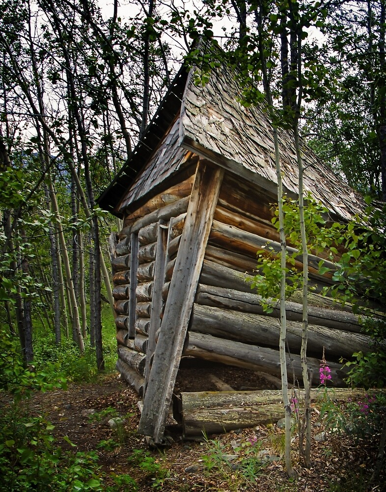 One of two cabins remaining from 1905 by Yukondick