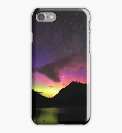Colours in the night sky iPhone Case/Skin