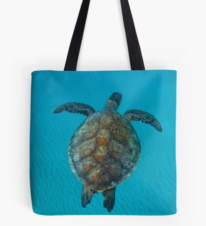 Peace turtle - print Tote Bag