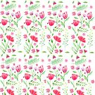 Floral Pattern 1 by TheYABookaholic