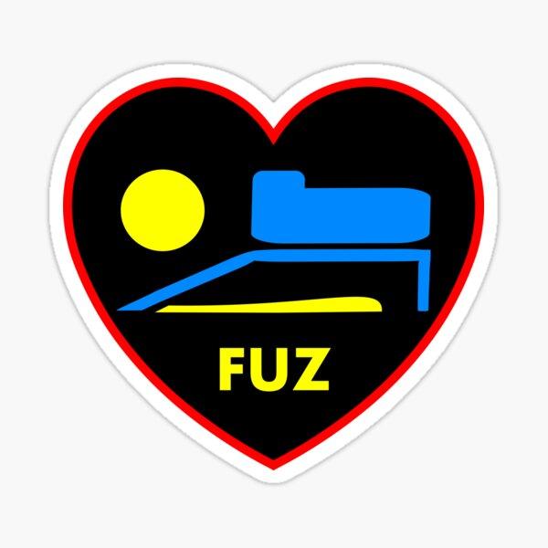 J'ADORE FUZ Sticker