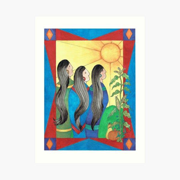 Three Sisters II Art Print