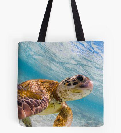 Turtle selfie - print Tote Bag