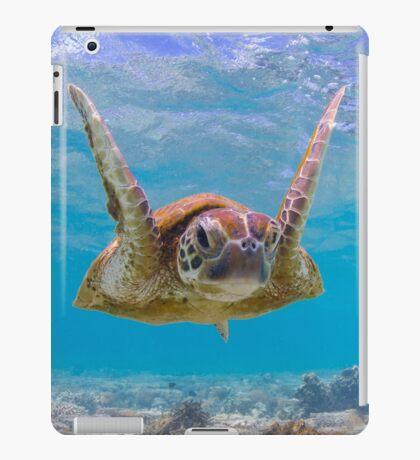 Joyful turtle - print iPad Case/Skin