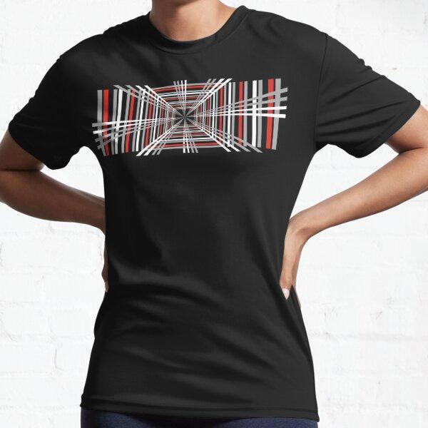 Plaid Tesla Model S Design Active T-Shirt