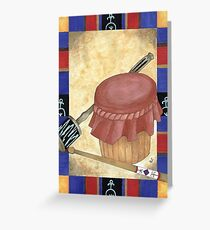 Rattle and Drum Greeting Card