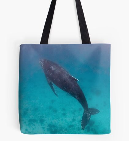 Whale wonders - print Tote Bag