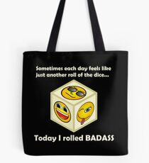 Just Another Roll of The Dice - Badass Mofo Hipster Tote Bag