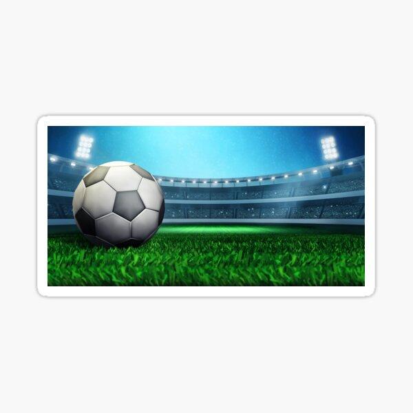 Football stadium 3D rendering concept Sticker
