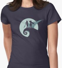 Nightmare Before Fantasy Womens Fitted T-Shirt