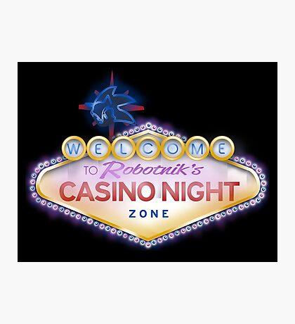 Casino Night Zone Photographic Print