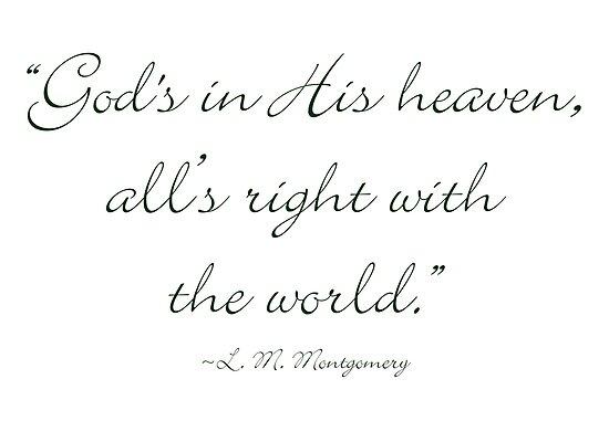 gods in his heaven
