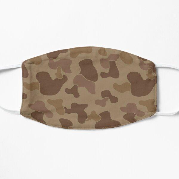 Camo Crocs Pattern Design Aesthetic Flat Mask