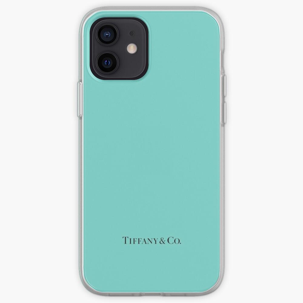 Tiffany Blue w/ Logo iPhone Case & Cover