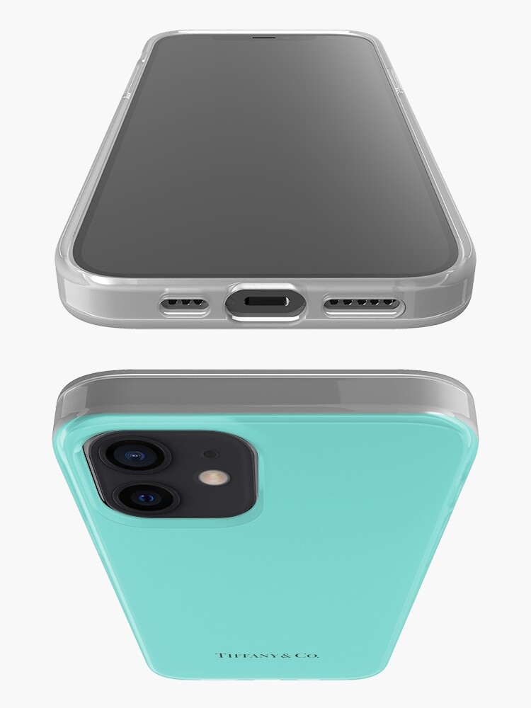 Alternate view of Tiffany Blue w/ Logo iPhone Case & Cover