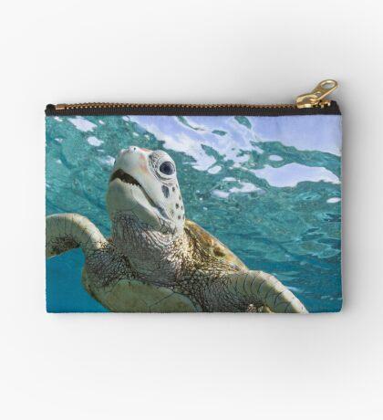Turtle grin Studio Pouch