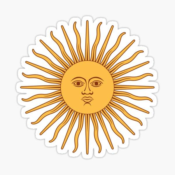 Argentina Sol de mayo Pegatina