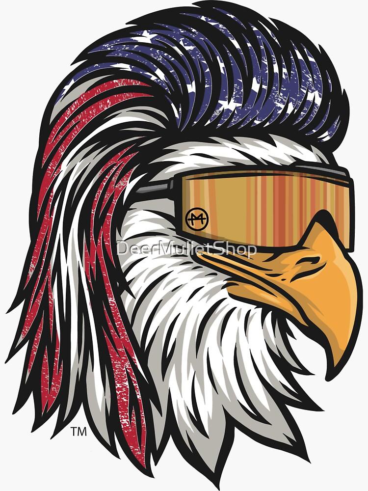 Eagle Mullet USA by DeerMulletShop