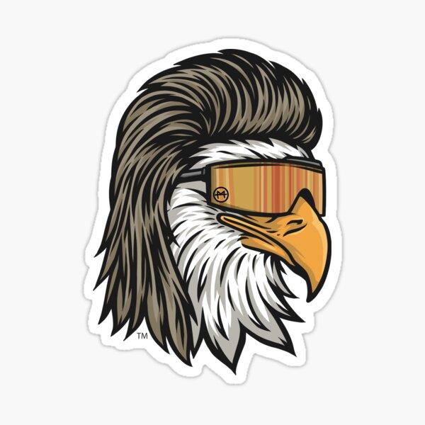Eagle Mullet Sticker