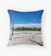 Yellowstone National Park  Throw Pillow