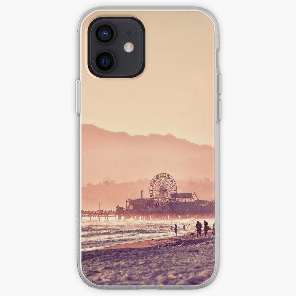 Santa Monica Beach  iPhone Soft Case