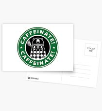 Caffeinate! Exterminate! Postcards