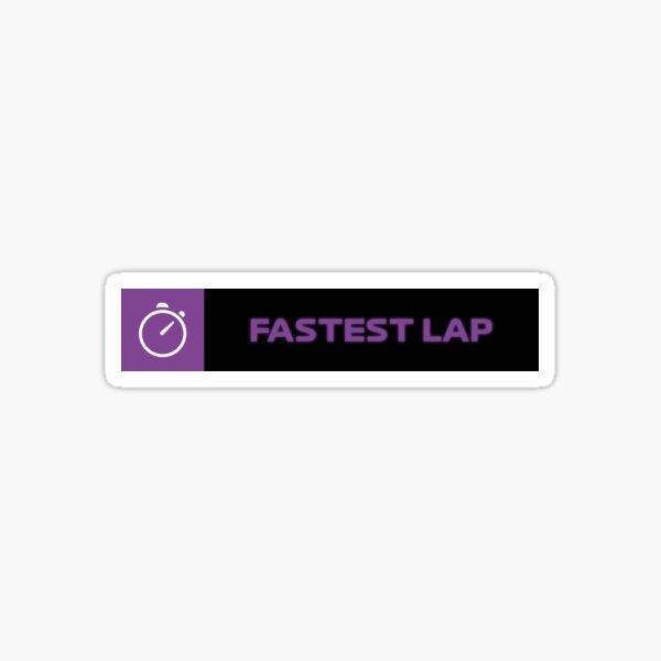 Tour le plus rapide (version plus sombre) Sticker