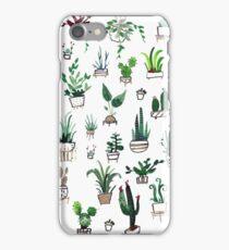 Succulent Plants Watercolor iPhone Case/Skin